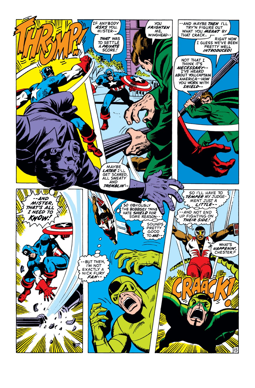 Captain America (1968) Issue #151 #65 - English 16
