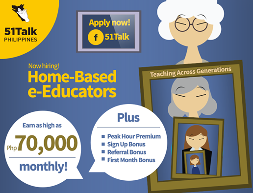 Home-based Online Teachers, online teachers, work at home, home based, make money at home