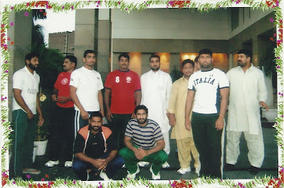 Pakistani kabaddi team in india
