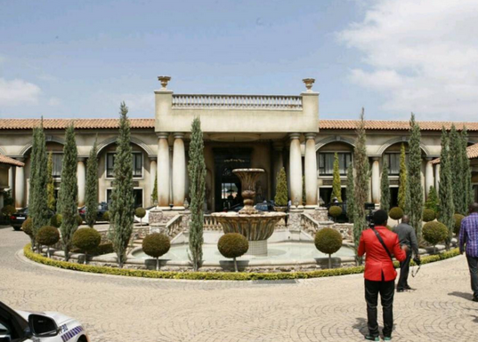 Sir Gabriel Osawaru Igbinedion's South African mansion!