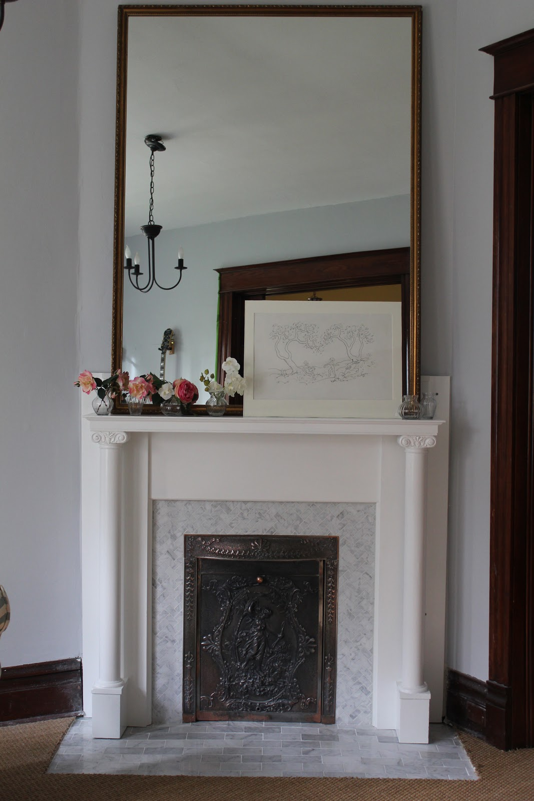 fireplace facade herringbone tile herringbone tile fireplace dact us