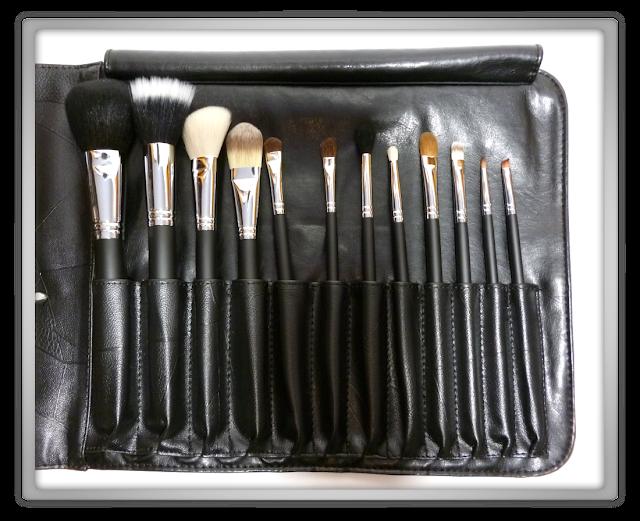 Sedona Lace 12 Piece Professional Makeup Brushes set