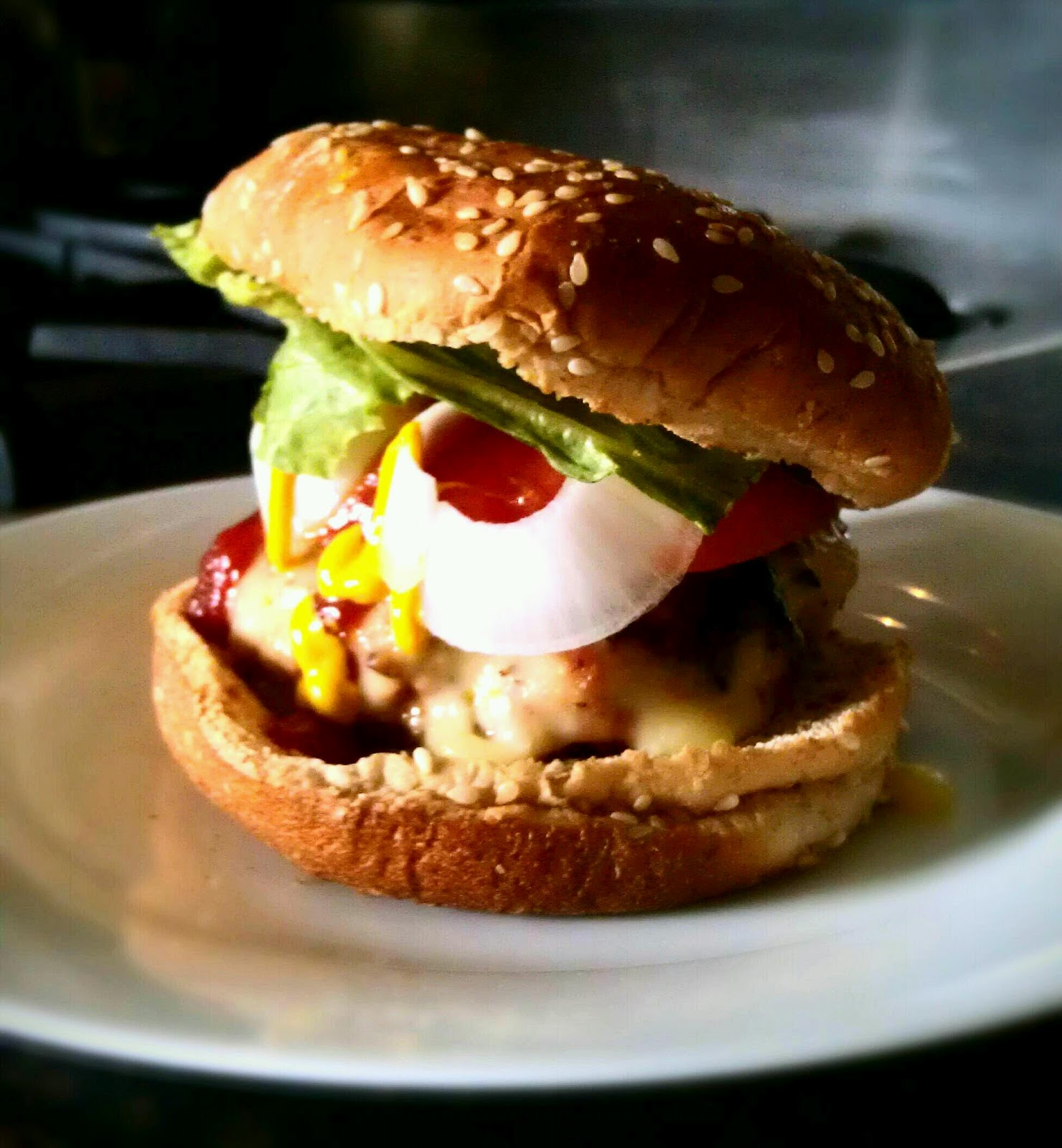No, seriously...the best turkey burgers EVER!!!