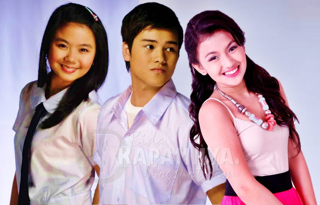 Miles Ocampo, Marco Gumabao and Karen Reyes