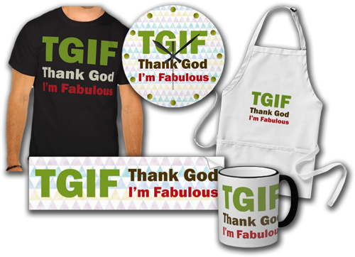TGIF 15% Off All Orders