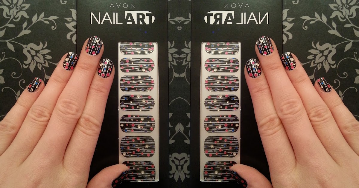 Ribbons leather and lace avon nail art design strips for Avon nail decoration tool