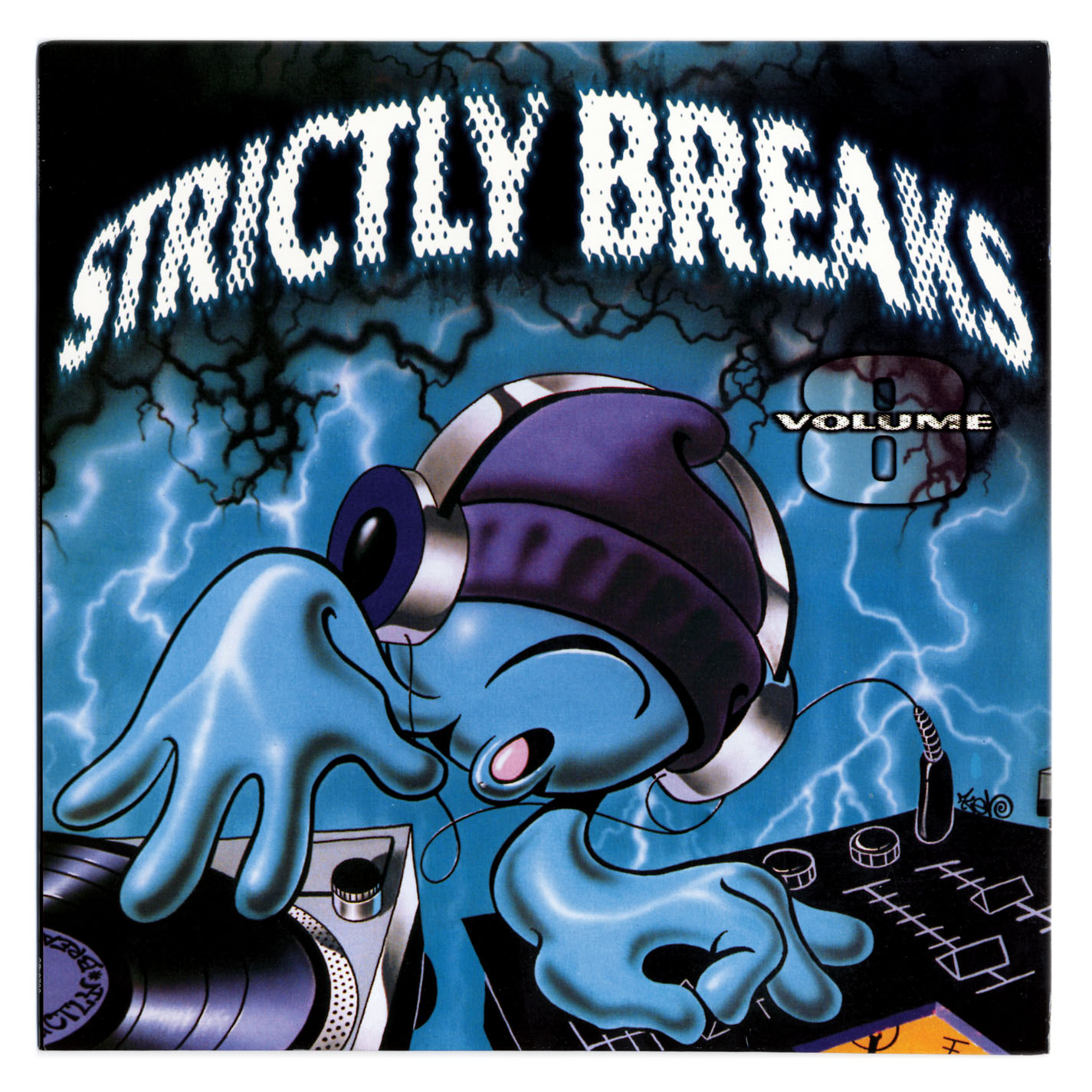 Strictly Breaks Volume 8 (2000) (CD) (320)
