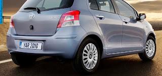 Toyota Yaris car 2013 exhaust - صور شكمان سيارة تويوتا يارس 2013