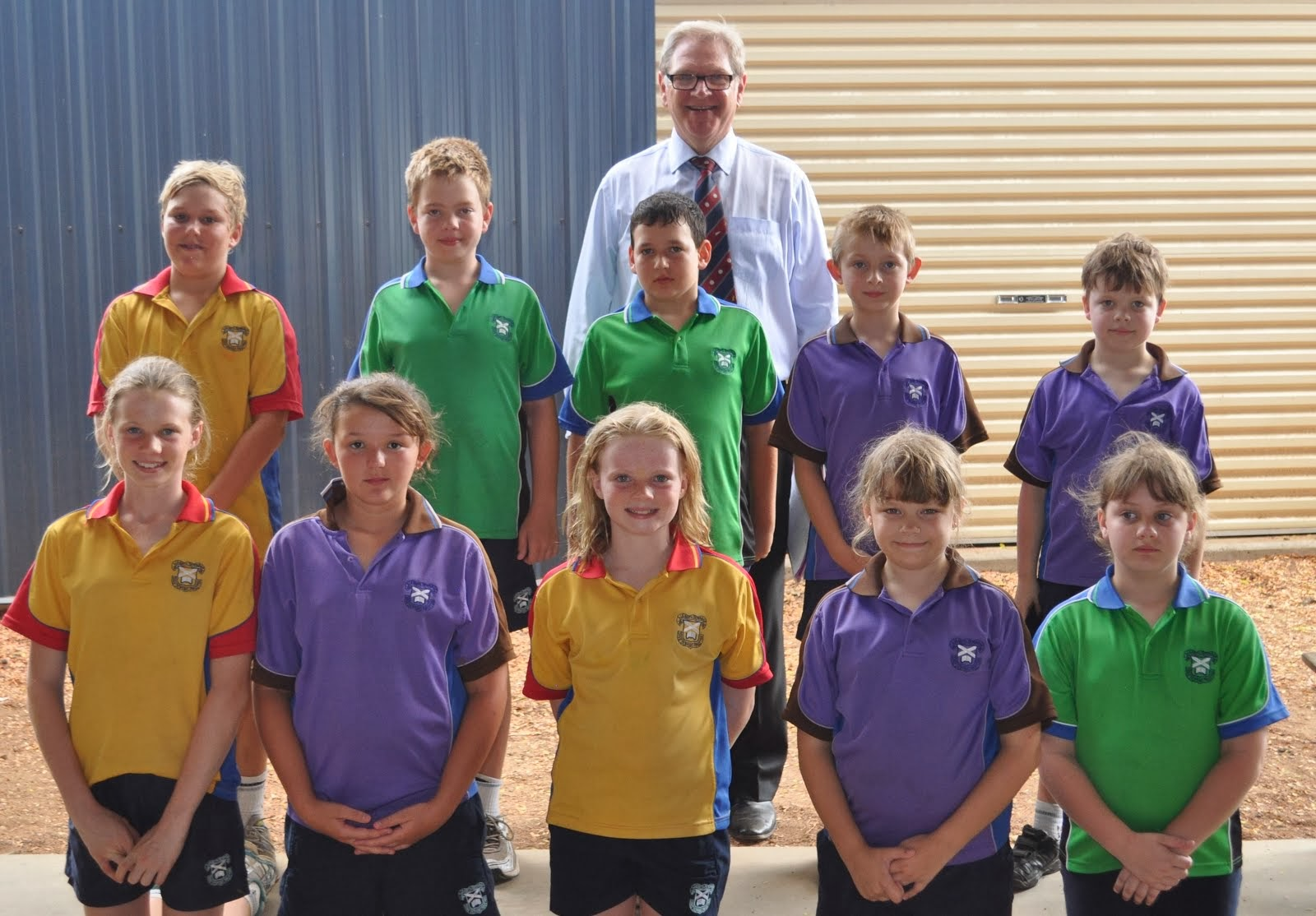 Primary Interhouse Swimming Age Champions