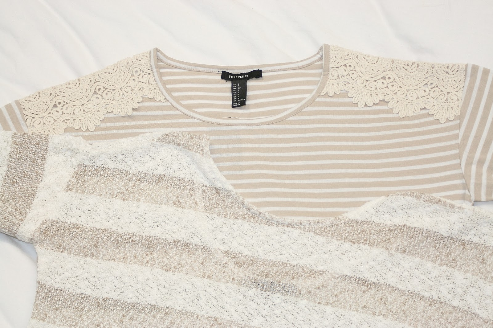 Katherine Penney Chic Forever 21 Primark Jumper White Beige Cream Fashion Spring Style