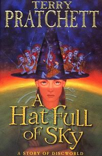 "Cover of ""A Hat Full of Sky"", a novel by Terry Pratchett"