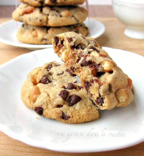 ... gamine dans la cuisine: Pretzel & Butterscotch Chocolate Chip Cookies