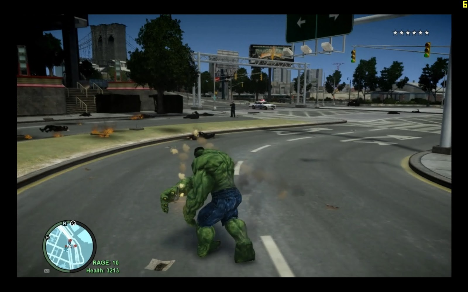 how to get hulk in gta 4