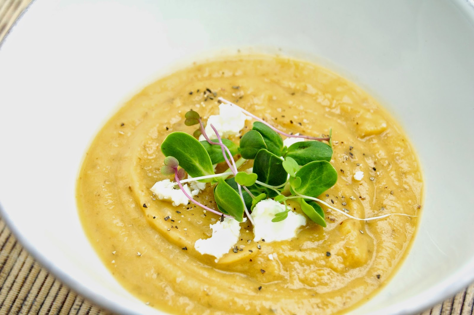 Roasted Sunchoke and Shallot Soup | www.kettlercuisine.com