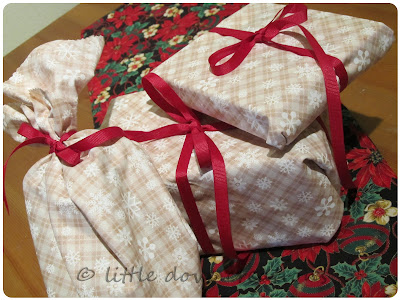 fabric wrappings