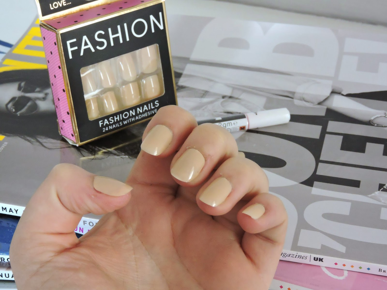 Primark Nude Fashion Nails | O is for Ottilie