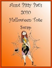 Haloween Tote and mug rug swap