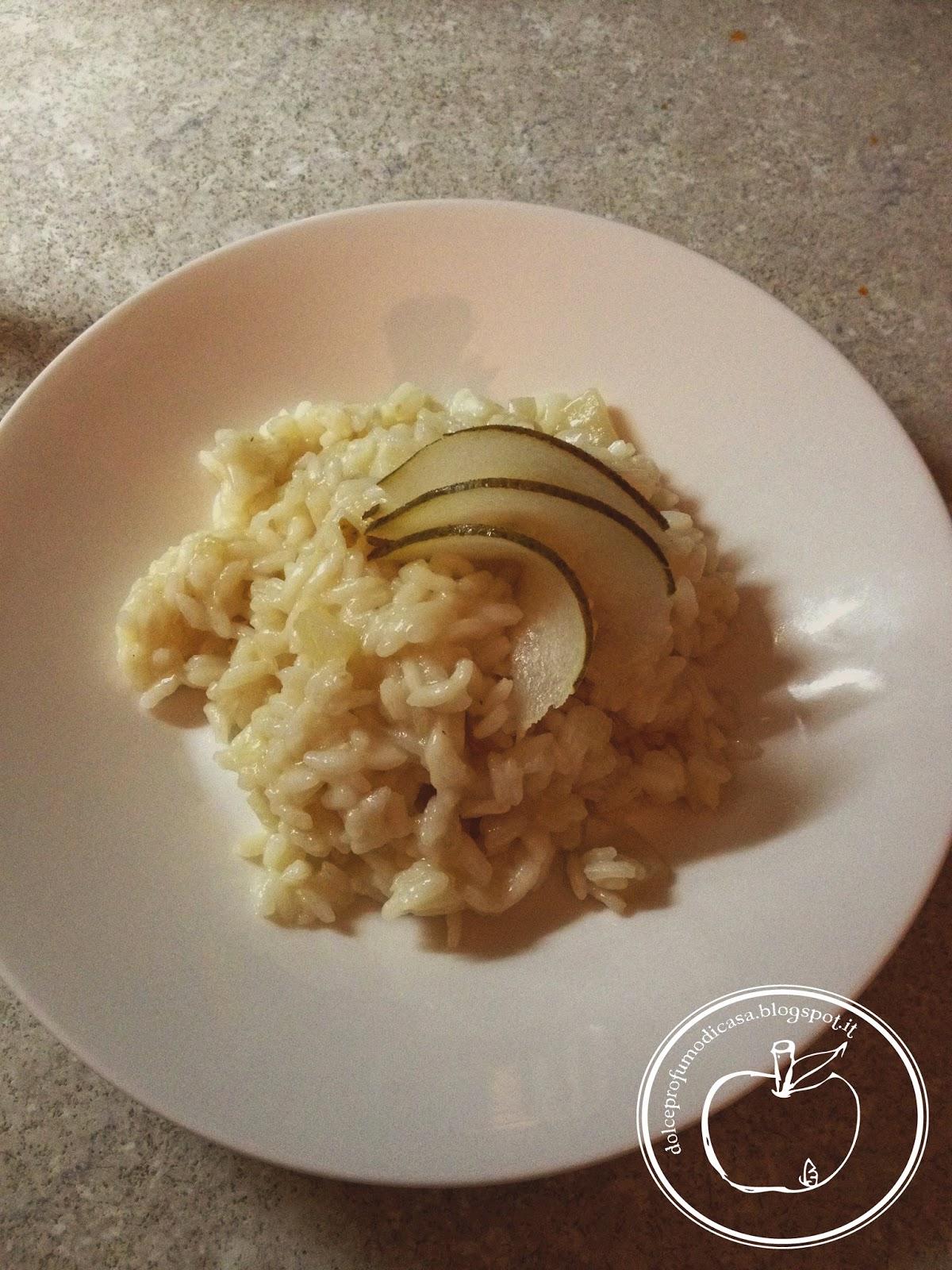 risotto alle pere e chiodi di garofano