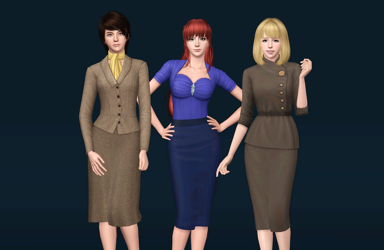 My Sims 3 Blog Fifth Avenue Fashion Less Shine By Mura