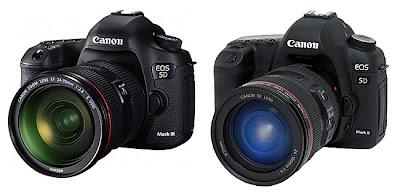 perbedaan kamera Canon 5D Mark II dan 5D Mark III