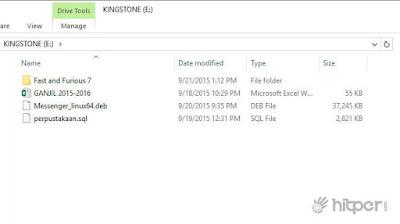 Cara Menampilkan File yang di Super Hidden oleh Virus