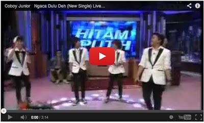 video Lirik Lagu Coboy Junior Berjudul Ngaca Dulu Deh