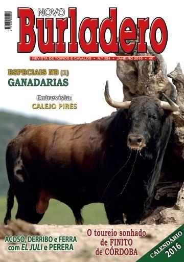 REVISTA TAURINA PORTUGUESA NOVO BURLADERO - MENSUAL.