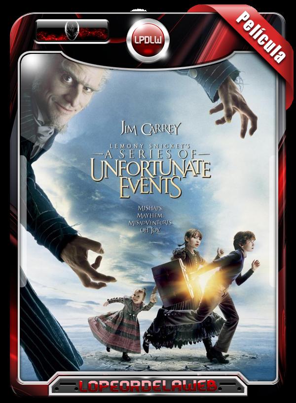 Lemony Snicket, Una Serie de Eventos Desafortunados (2004) - LoPeorDeLaWeb
