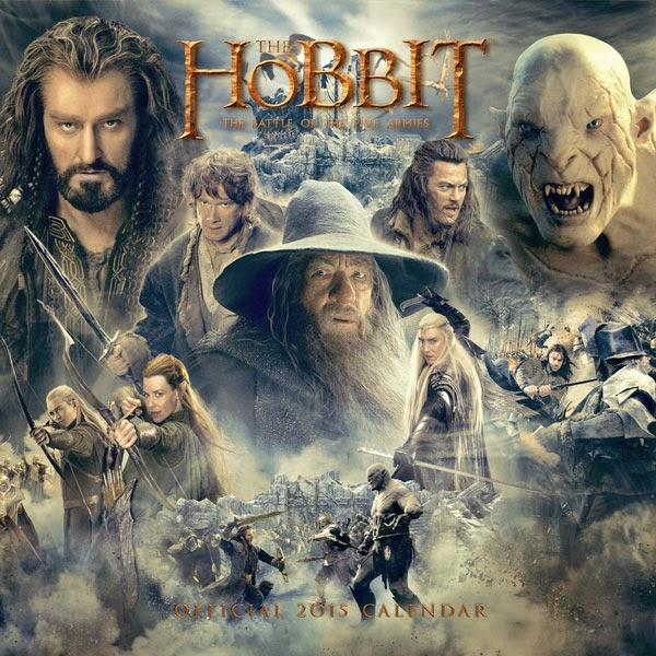 Calendario El Hobbit 2015
