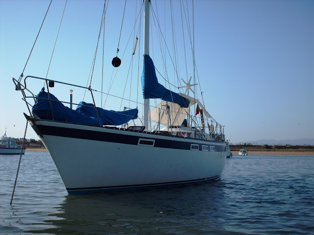 Anchoring in Alvor