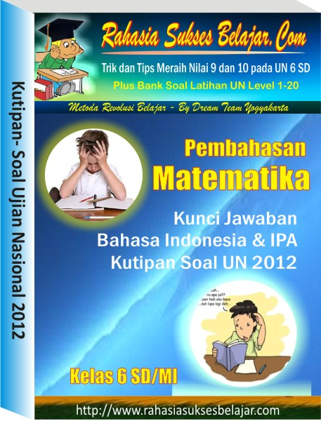 Part 3 # Bank Soal Latihan Ujian Nasional 2013 #