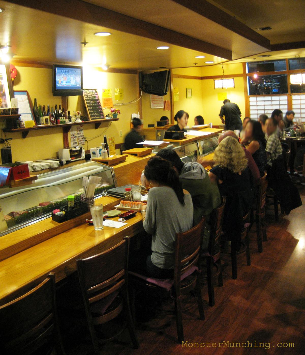 Sushi Room Menu