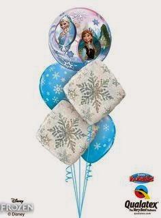 Enchanted Weddings amp Events Bristol Frozen Party Balloon