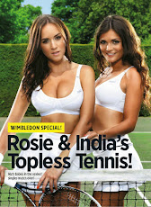 Rosie e India Topless Tenis