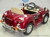 Mobil Mainan Aki Pliko PK888N RR Phantom Red