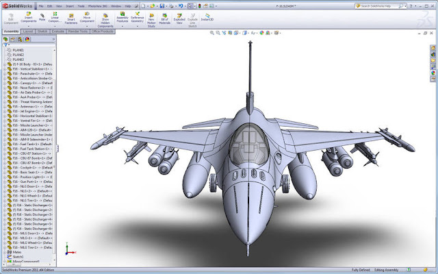 F-16-solidworks-Model