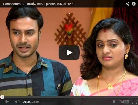 106 05 Dec 2013 Latest Episode | Asianet Parasparam Episode 106 Serial ...