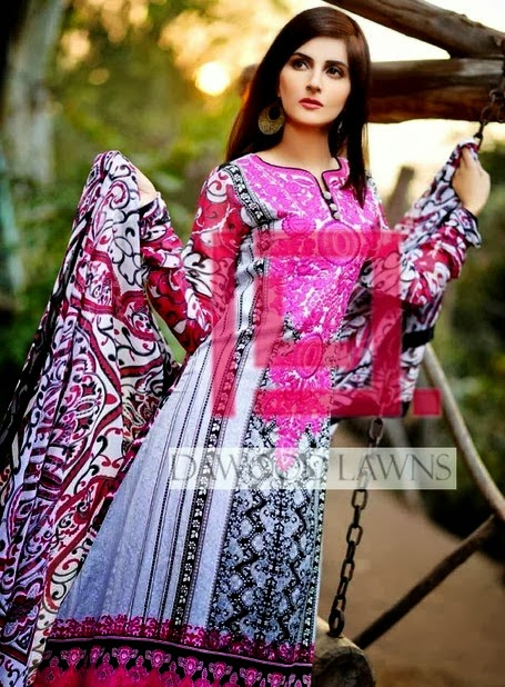 Casual Prints Lawn by Dawood Liali