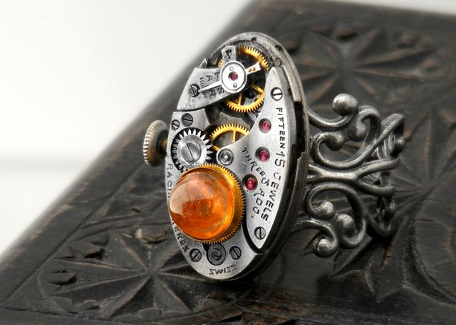 Steampunk Jewelry - Gothic  Design  Jewellery from ClosetGothic.co.nz