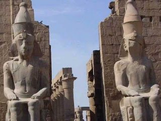 Templo de Luxor - Egipto. Egipto a tus pies. Templos egipcios. Arquitectura egipcia. Religion egipcia. El arte egipcio y sus etapas