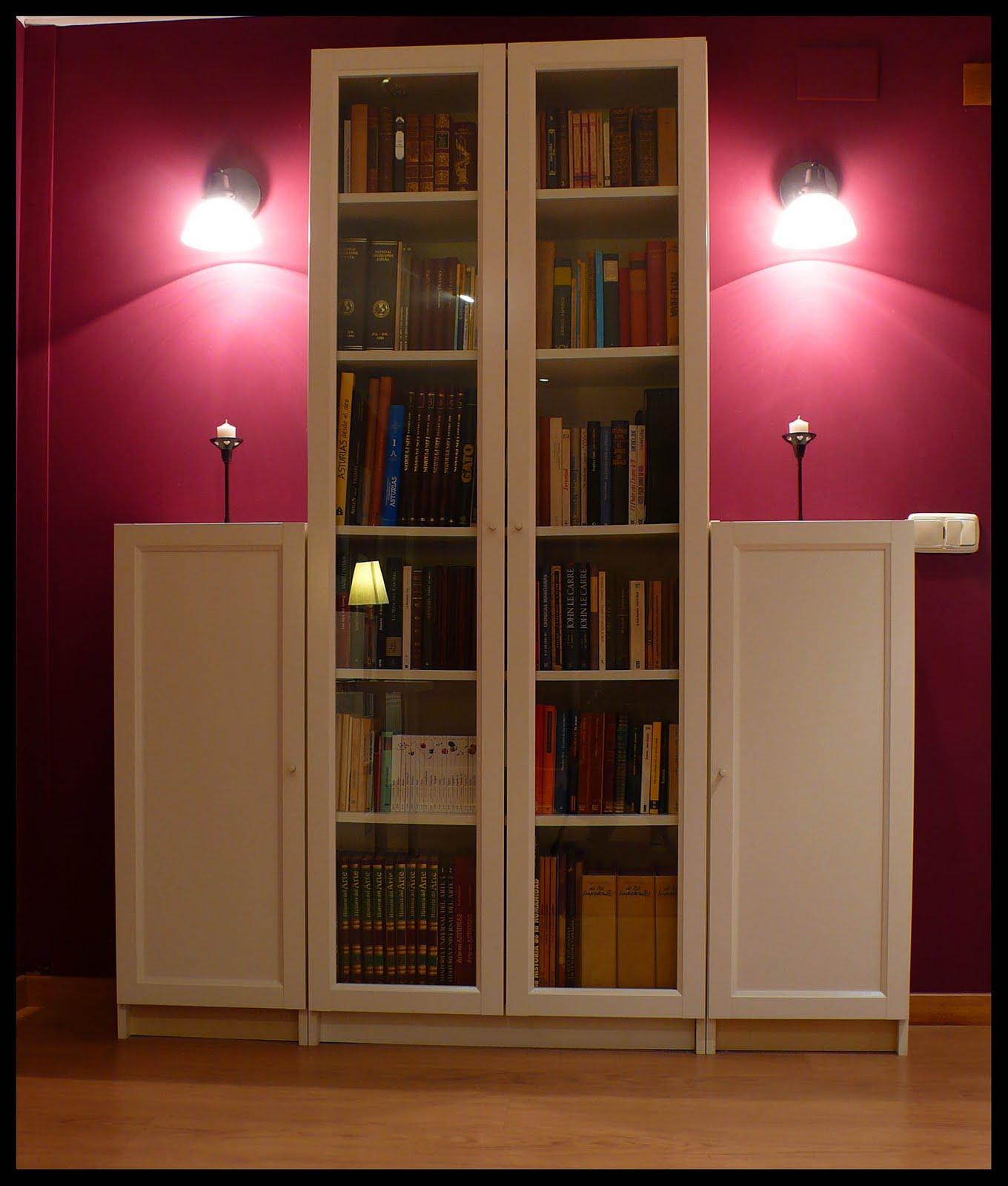 Retazos ikea - Libreria billy con puertas ...