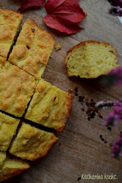 Cornbread: Maisbrot (nicht nur) für Thanksgiving auf www.katharinakocht.com