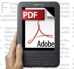 Convert PDF To Kindle Viewing Format