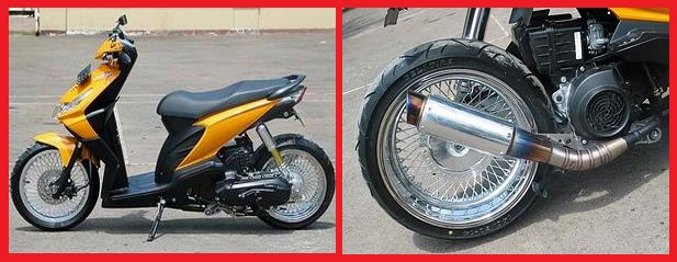 Honda Beat_Racing-Kumpulan Gambar Modifikasi Motor 2. title=