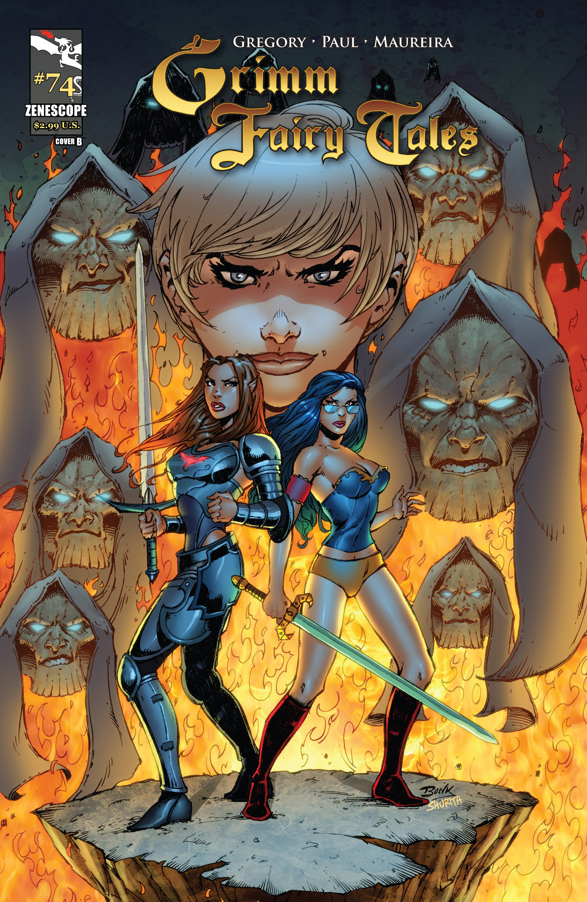 Grimm Fairy Tales (2005) Issue #74 #77 - English 1
