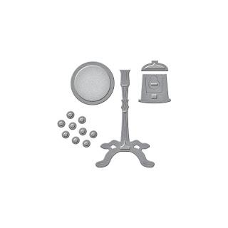 SBS1-002 Spellbinders D-Lites - Gumball Machine