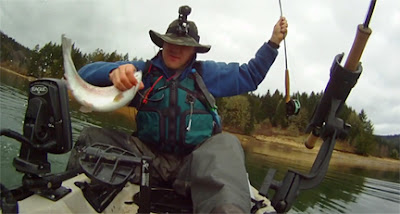 The season starts and i donate to a good cause for Henry hagg lake fishing