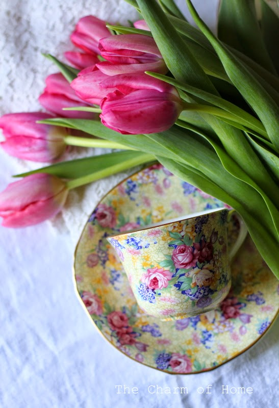 Spring Tea: The Charm of Home