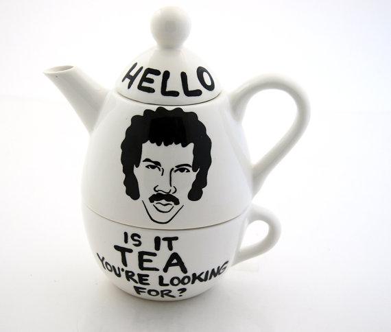 Tomando chá com Lionel Richie