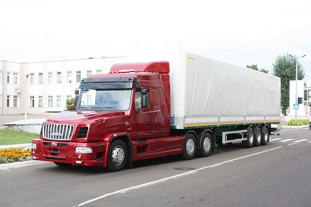 белорусский тягач МАЗ 6440 РА